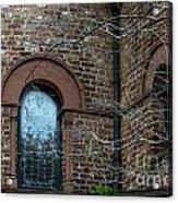 Circular Church Window Acrylic Print