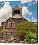 Circular Congregational Church  Acrylic Print