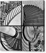 Circular Acrylic Print by Luke Moore