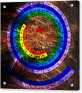 Circular Periodic Table Of The Elements Acrylic Print