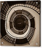Circular Staircase In The Granitz Hunting Lodge Acrylic Print