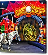 Circus Act Acrylic Print