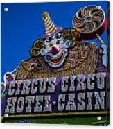 Circus Circus Acrylic Print