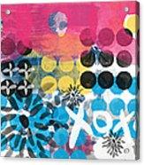 Circus - Contemporary Abstract Art Acrylic Print