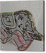 Circus Elephant Acrylic Print