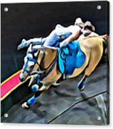 Circus Horse Trickster Acrylic Print