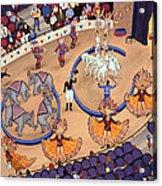 Circus Ladies Acrylic Print