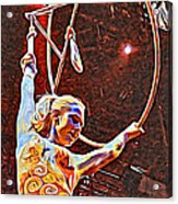 Circus Performer Acrylic Print