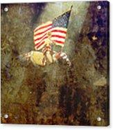 Circus Usa Flag Acrylic Print