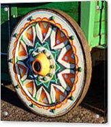 Circus Wagon Acrylic Print