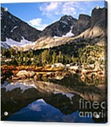 Cirque Of The Towers In Lonesome Lake 2 Acrylic Print