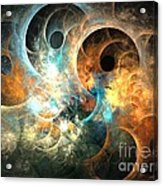 Cirrostratus Acrylic Print by Kim Sy Ok