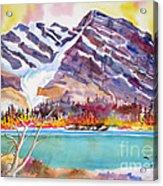 Cirrus Mountain Acrylic Print