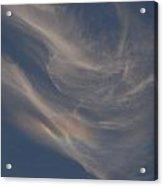 Cirrus Rainbow Cloud Acrylic Print
