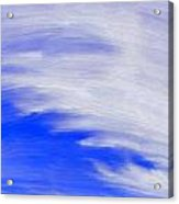 Cirrus Sky Acrylic Print