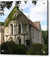 Cistercian Abbey Of Fontenay Acrylic Print