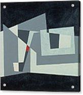 Citadel, Version 3, 1982 Oil On Hardboard Acrylic Print