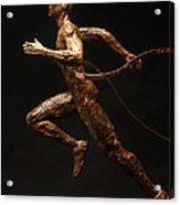 Olympic Runner Citius Altius Fortius  Acrylic Print