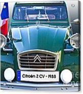 Citroen 2 Cv - France Acrylic Print