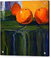 Citrus Chrome Acrylic Print
