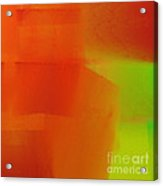 Citrus Connections Abstract Square 2 Acrylic Print