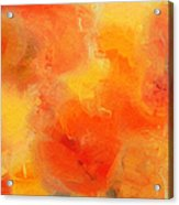 Citrus Passion - Abstract - Digital Painting Acrylic Print
