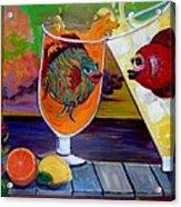 Citrus Sunset Acrylic Print
