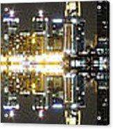 City Approach Panoramic Acrylic Print
