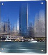 City-art Sydney Circular Quay Acrylic Print
