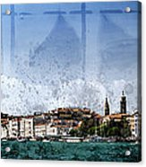 City-art Venice Panoramic Acrylic Print