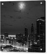 City At Night Acrylic Print