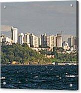 City At The Waterfront, Salvador Acrylic Print