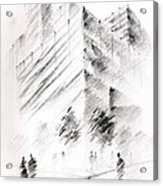 City Building Acrylic Print