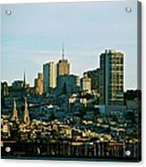 City By The Bay Acrylic Print
