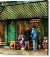 City - Canandaigua Ny - Buyers Delight Acrylic Print