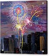 City Celebration San Francisco Bay Acrylic Print