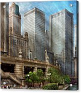 City - Chicago Il - Continuing A Legacy Acrylic Print