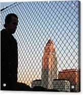 City Commuter Acrylic Print