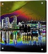 City Fantasy Acrylic Print