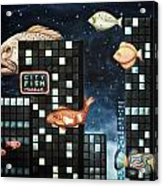 City Fish Edit 2 Acrylic Print