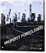 City For Sale Acrylic Print