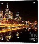 City Glow Acrylic Print