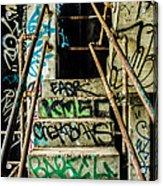 City Grunge Acrylic Print