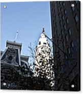 City Hall At Market Street Acrylic Print