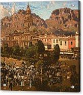 City Hall - Capetown 1917 Acrylic Print