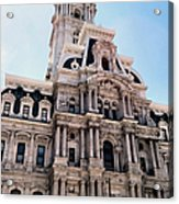 City Hall Philly Acrylic Print