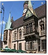 City Hall Wroclaw Acrylic Print