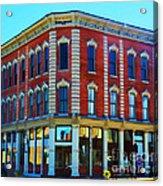 City - Hannibal Missouri - Mark Twain- Luther Fine Art Acrylic Print