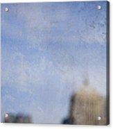 City In A Blur Acrylic Print