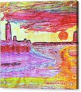 City Landscape 100 Acrylic Print